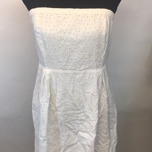 Old navy strapless cotton dress.  Size 12
